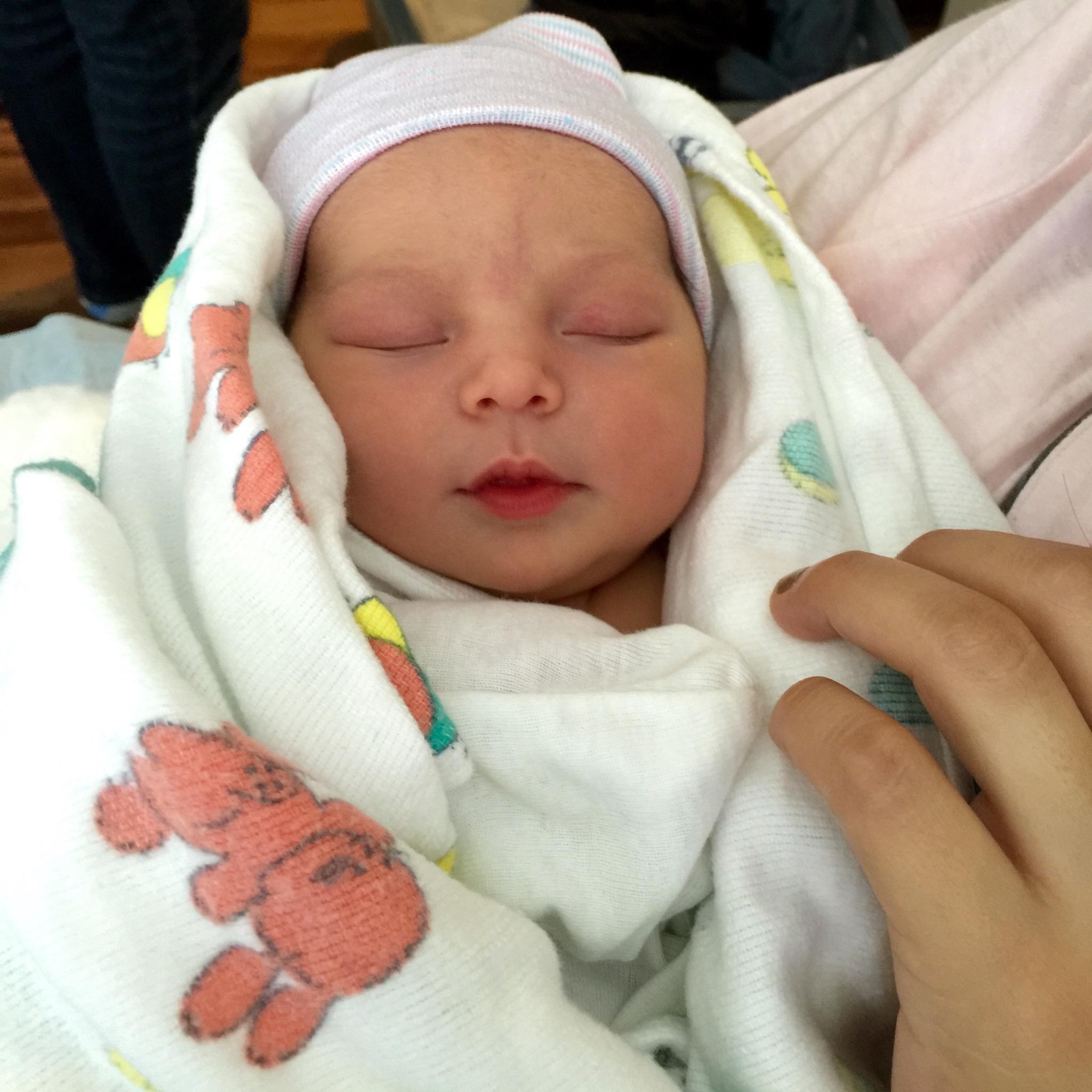 Newborn Baby Girl In Hospital Just Born | www.pixshark.com ...